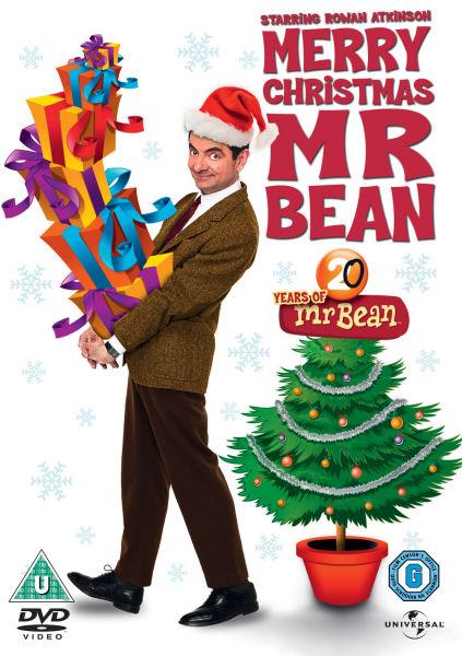 Mr Bean Merry Christmas Mr Bean Dvd Zavvi Com