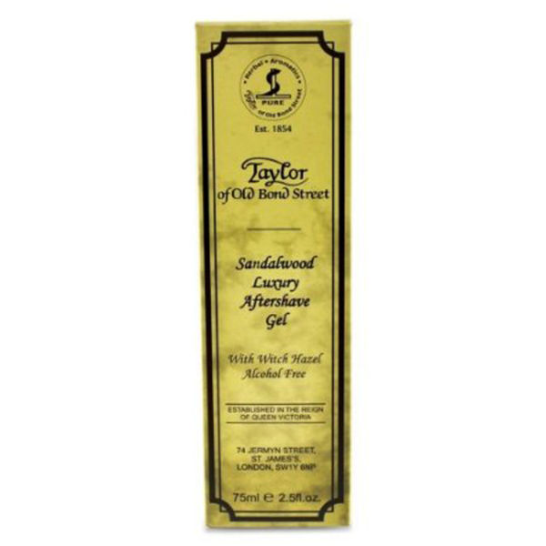 Gel after-shave Taylor of Old Bond Street Sandalwood Luxury (75 ml)