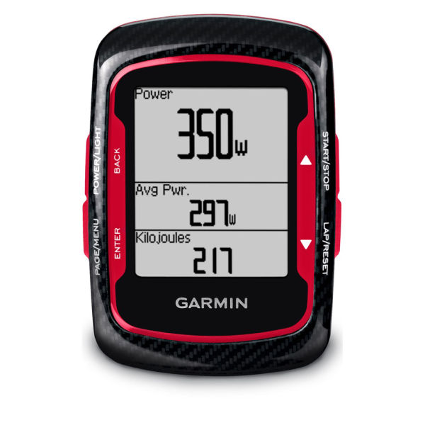 Garmin Edge 500 Gps Hrm Cad Cycle Computer Red Black