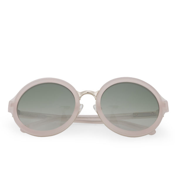 3.1 Phillip Lim Round Acetate Sunglasses - Salmon