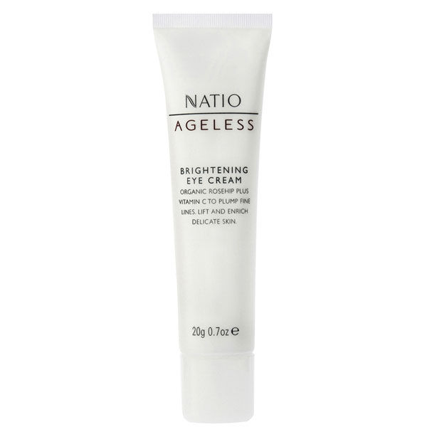 NATIO AGELESS BRIGHTENING EYE CREAM (20G)