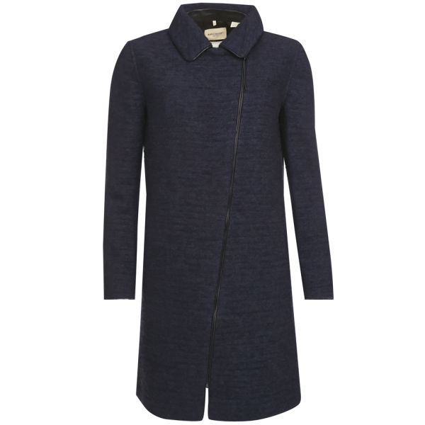 Levi's Made & Crafted Women's Thick As Thieves Indigo Boucle Coat - Blue