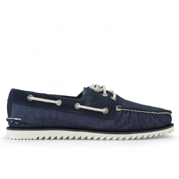 Sperry Canvas Boat Shoes Laces Mens