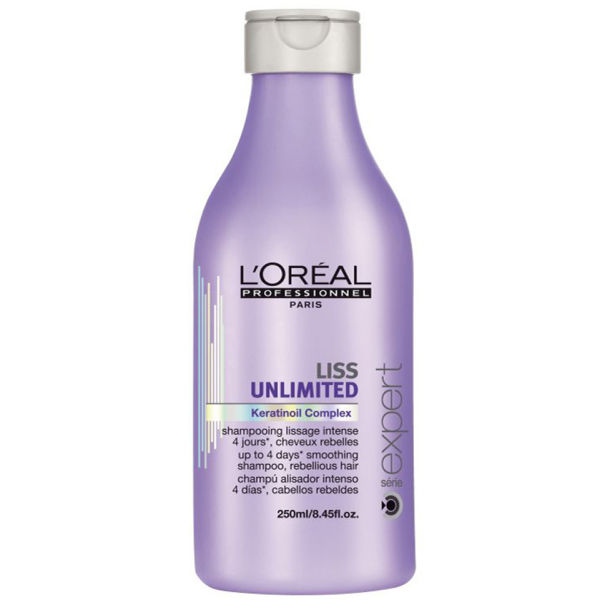 L'Oreal Professionnel Serie Expert Liss Unlimited Shampoo (250 ml)