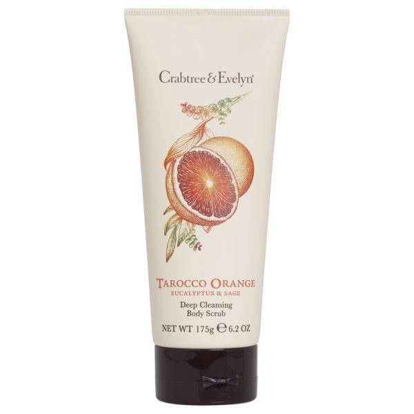 Crabtree & Evelyn Tarocco Orange, Eucalyptus & Sage Body Scrub (175 g)