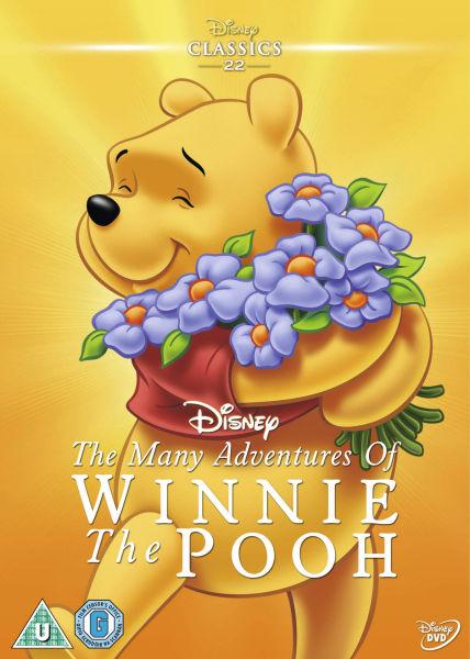 Many Adventures Of Winnie The Pooh Dvd Zavvi Com