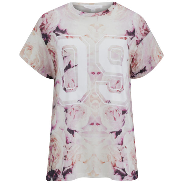 Finders Keepers Women's Oblivion T-Shirt - Rose Print