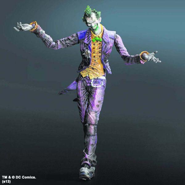 Batman Arkham City Play Arts Kai The Joker Iwoot