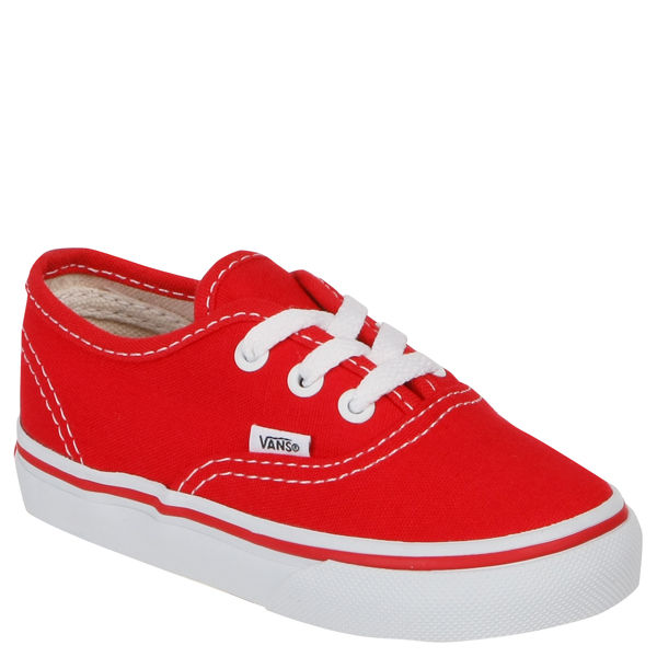 Vans Toddler Authentic Canvas Trainer - Red
