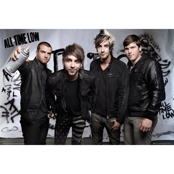 All Time Low Spray - Maxi Poster - 61 x 91.5cm
