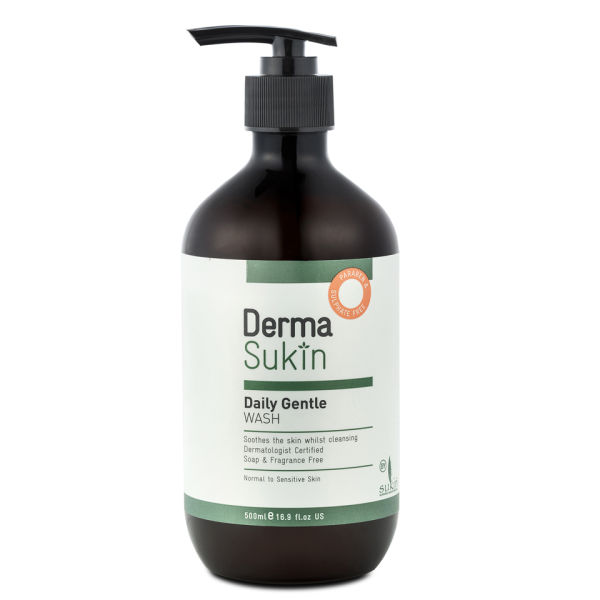 DermaSukin Daily Gentle Soap Free Wash (500ml)
