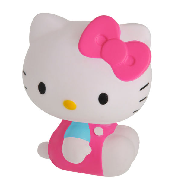 hello kitty colour changing mood light iwoot. Black Bedroom Furniture Sets. Home Design Ideas