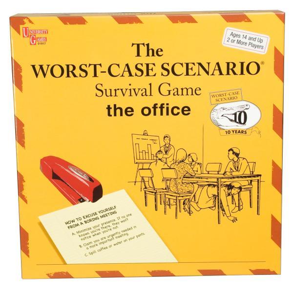 worst case scenario game office unique gifts zavvi