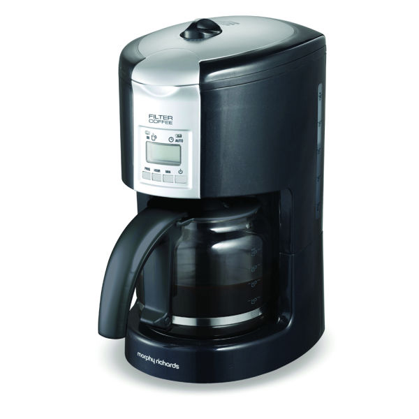 Morphy Richards Meno Coffee Maker : Morphy Richards Graphite Filter Coffee maker IWOOT