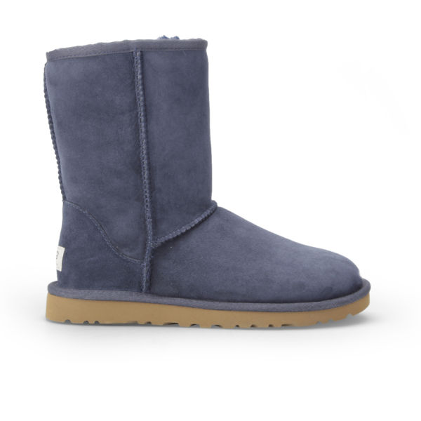 UGG Women's Classic Short Sheepskin Boots - Navy