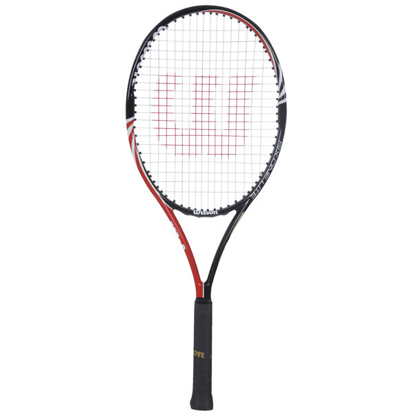 wilson six one lite 102 blx tennis racket grip size 2 sports leisure. Black Bedroom Furniture Sets. Home Design Ideas
