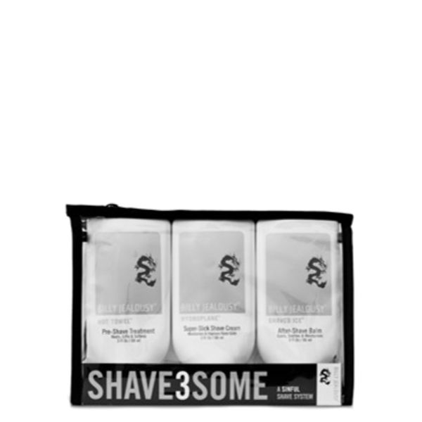 Billy Jealousy Men's SHAVE3SOME Shave Trio