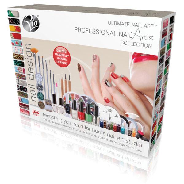Pro Nail Designs: Rio Professional Nail Artist Ultimate Nail Art Collection