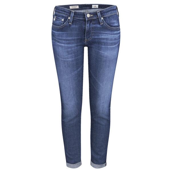 AG Jeans Women's Low Rise Stilt Roll Up Jeans - 11 Years Journey