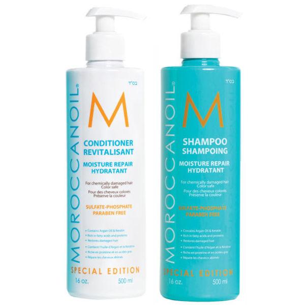 Moroccanoil Moisture Repair Shampoo Amp Conditioner 500 Ml