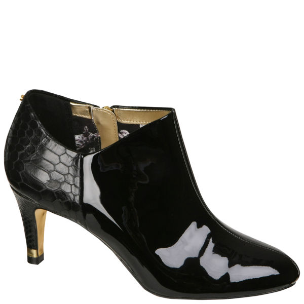 ted baker s caberi 4 patent leather ankle boots