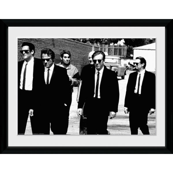 Reservoir Dogs Lets Go - 16x12 Framed Photographic