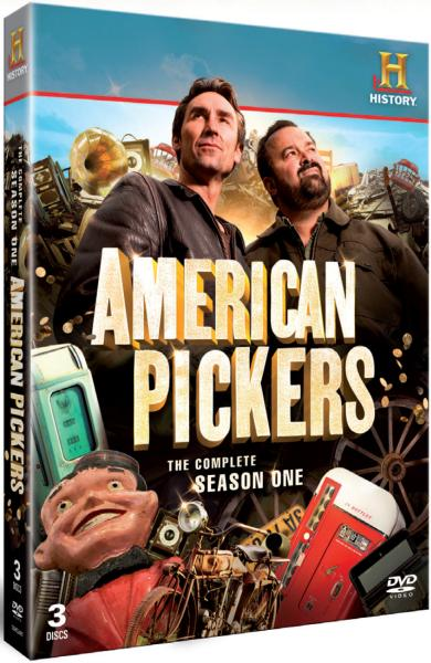 American pickers season 1 box set dvd thehut com
