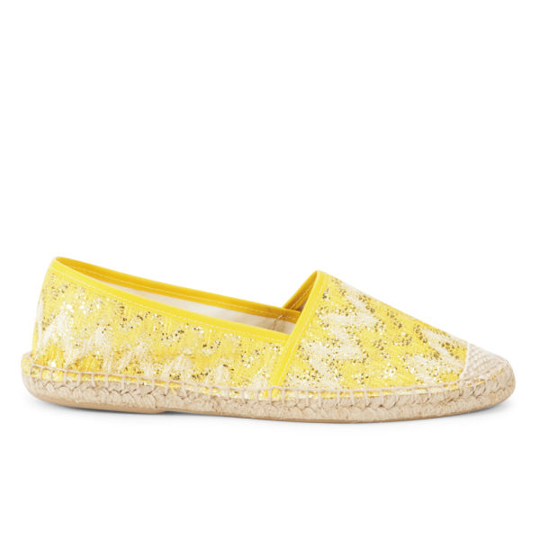 Ilse Jacobsen Women's Flat Espadrilles - Yellow