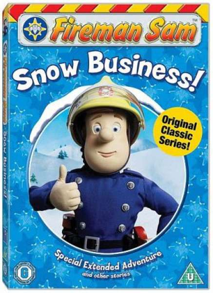 Fireman Sam Snow Business Dvd Zavvi Com