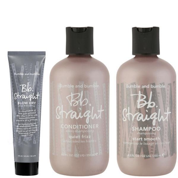 Bb Straight Trio- Shampoo, Conditioner and Blowdry Balm