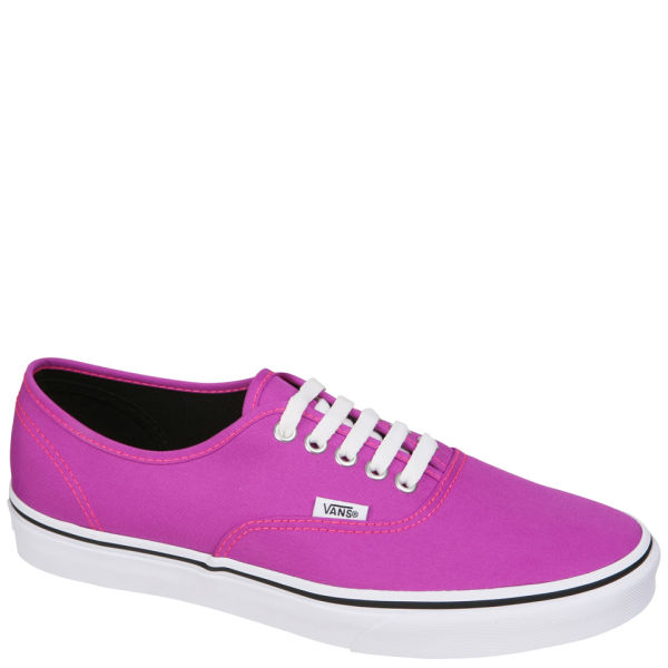 Vans Authentic Neon Trainers - Purple/True White