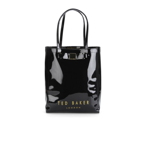 ee5063e7b42 page Home Ted Baker Women s Solcon Bow Plastic Large Tote Bag - Black