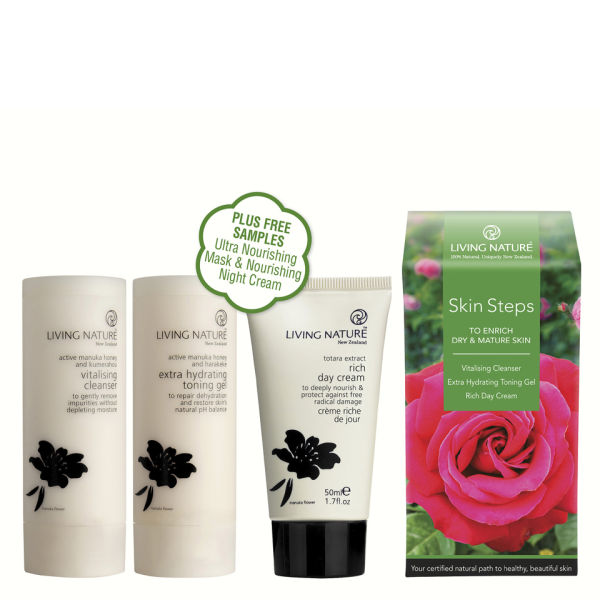 Living Nature Skin Steps to Enrich Dry and Mature Skin