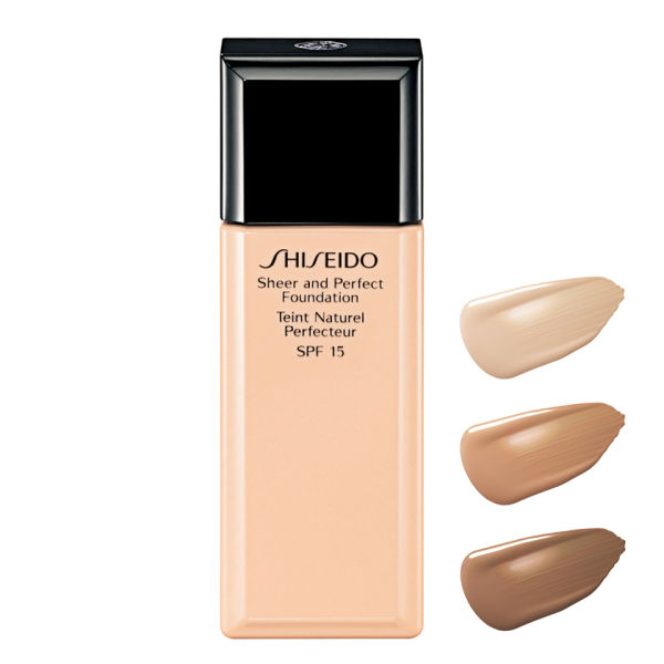 Shiseido Sheer and Perfect Foundation SPF15 (30ml)