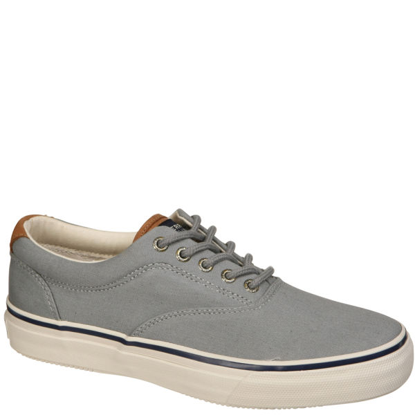 sperry s striper cvo waxed canvas shoes grey free