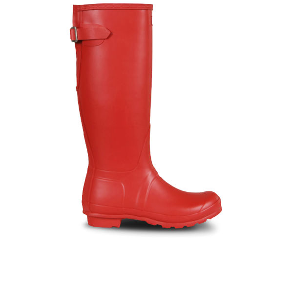 Hunter Women's Original Back Adjustable Wellies - Red
