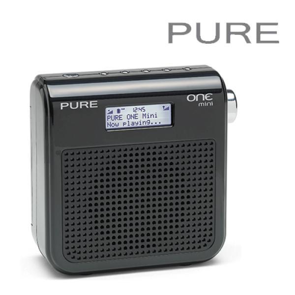 Companion Xl Reconditionné: Pure Outlet One Mini DAB Black Digital Portable Radio