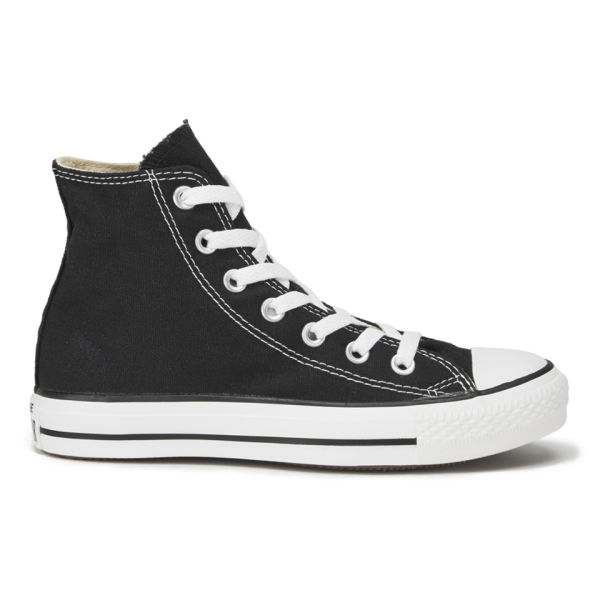 Converse Unisex Chuck Taylor All Star Canvas Hi-Top Trainers - Black