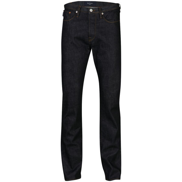 Paul Smith Jeans Men's Mid Rise Classic Fit Jeans - Dark Wash