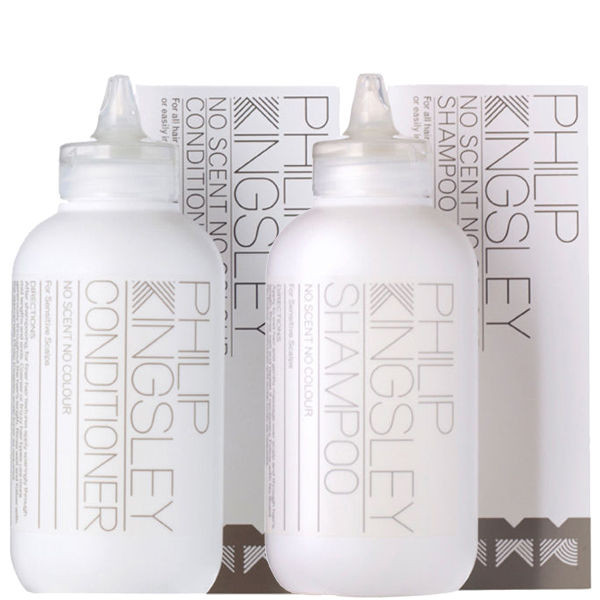 Philip Kingsley No Scent No Colour Duo - Shampoo & Conditioner