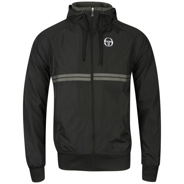 sergio tacchini mens texas jacket black clothing. Black Bedroom Furniture Sets. Home Design Ideas