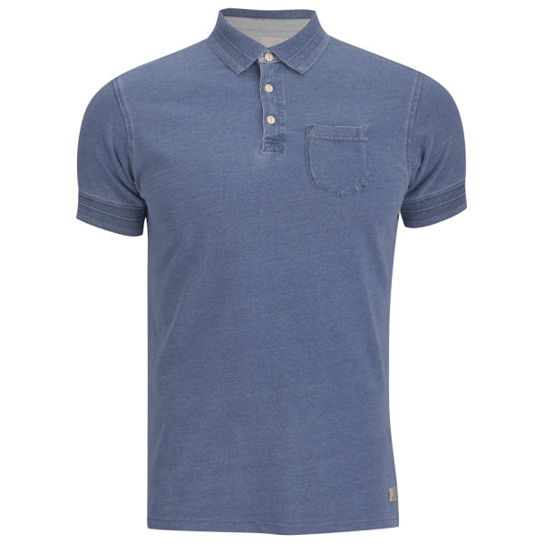 Scotch & Soda Men's Short Sleeved Polo Shirt - Indigo