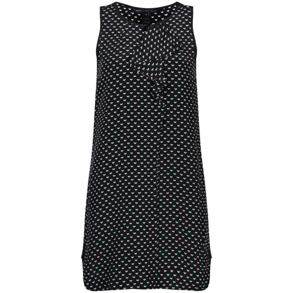 Marc by Marc Jacobs Women's Vivie Print Silk Dress - Navy