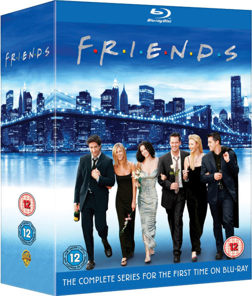 Friends Complete Season Blu-Ray