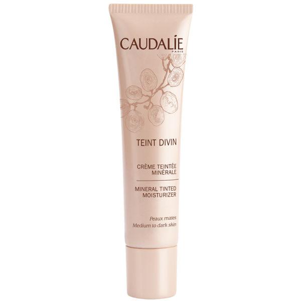 Caudalie Teint Divin Mineral Tinted Moisturizer - Medium To Dark Skin