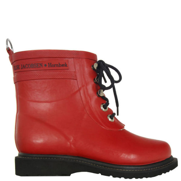 Ilse Jacobsen Women's Rub 2 Boots - Red