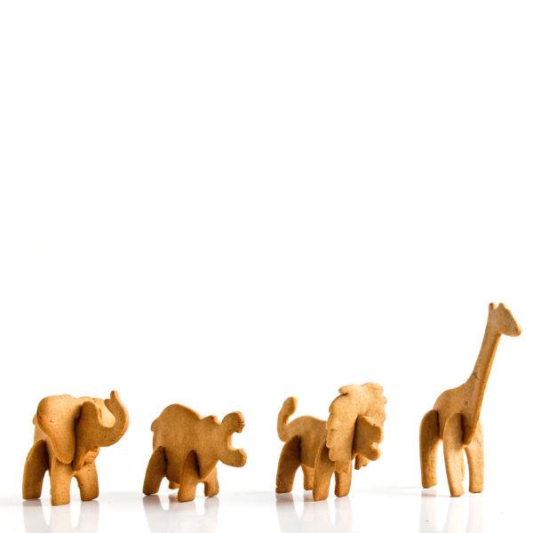 3D Safari Cookie Cutter