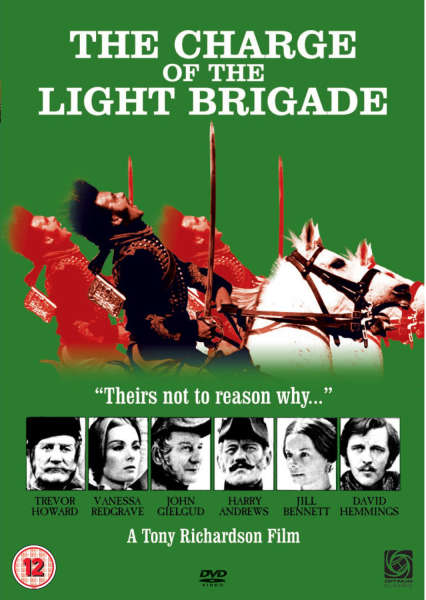 The Charge Of The Light Brigade Dvd Zavvi Com