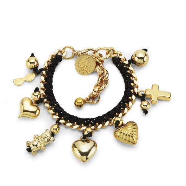 Venessa Arizaga Women's Lolita Bracelet - Black/Gold