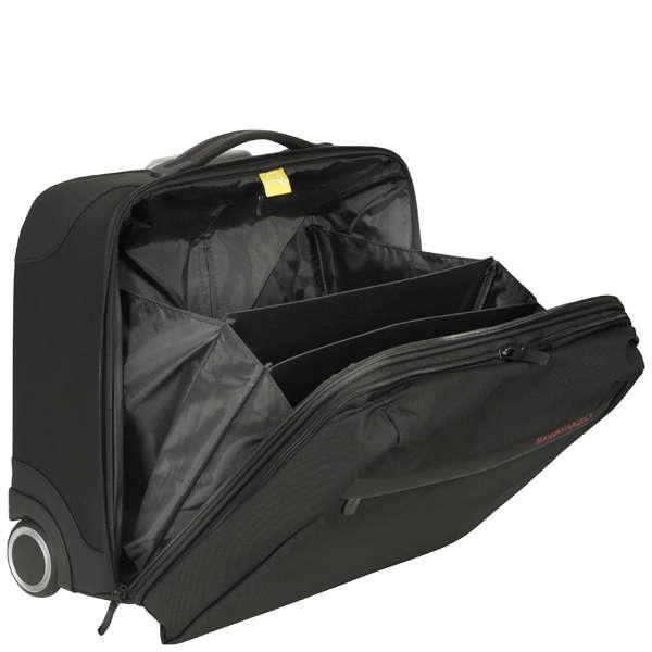 mandarina duck work trolley pilot case black clothing. Black Bedroom Furniture Sets. Home Design Ideas